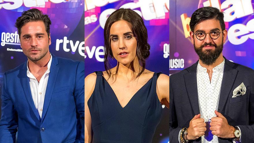 Los finalistas de Bailando con las estrellas: David Bustamante,  Patry Jordan y Manu Sánchez