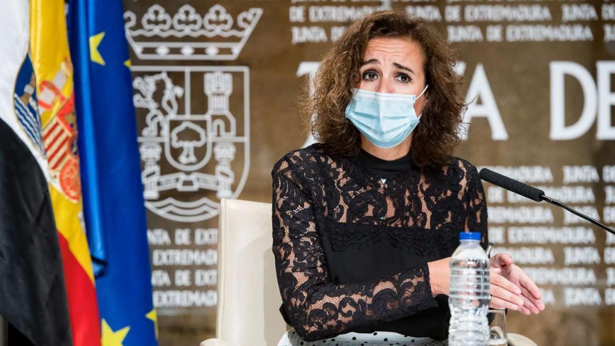 Olga García, consejera de Transición Ecológica y Sostenibilidad