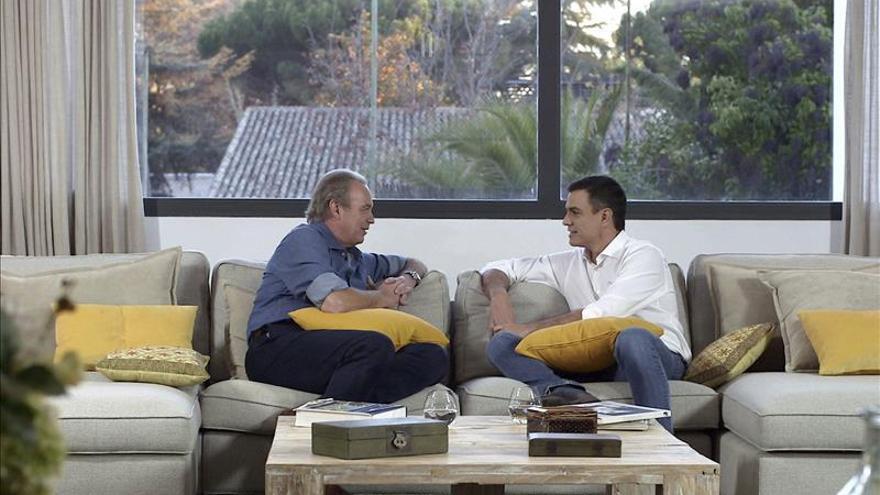 La entrevista de Osborne a Pedro Sánchez lidera con 3,7 millones espectadores