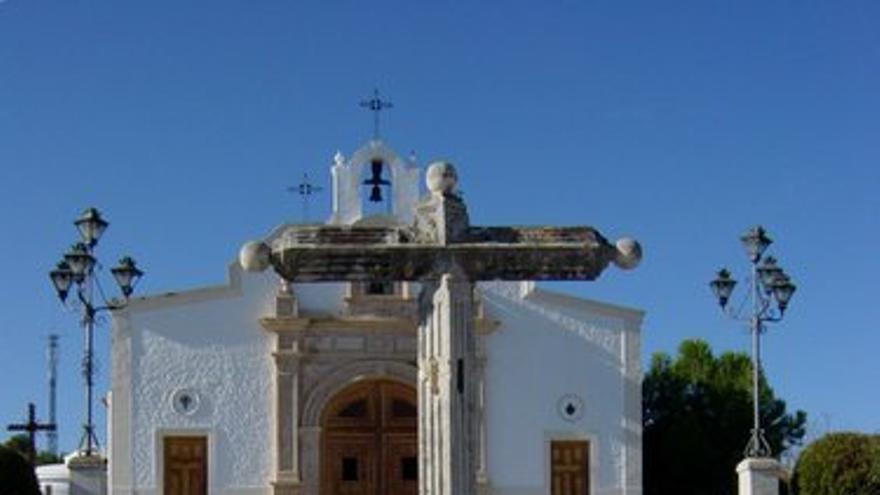 Ermita del Calvario de Priego de Córdoba, construida en suelo público por los vecinos y ahora inmatriculada por la Iglesia. (Foto.Enrique Alcalá)
