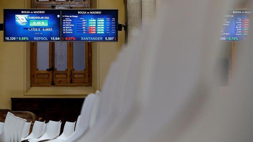 La prima de riesgo española sube a 115 puntos por la caída del bono alemán
