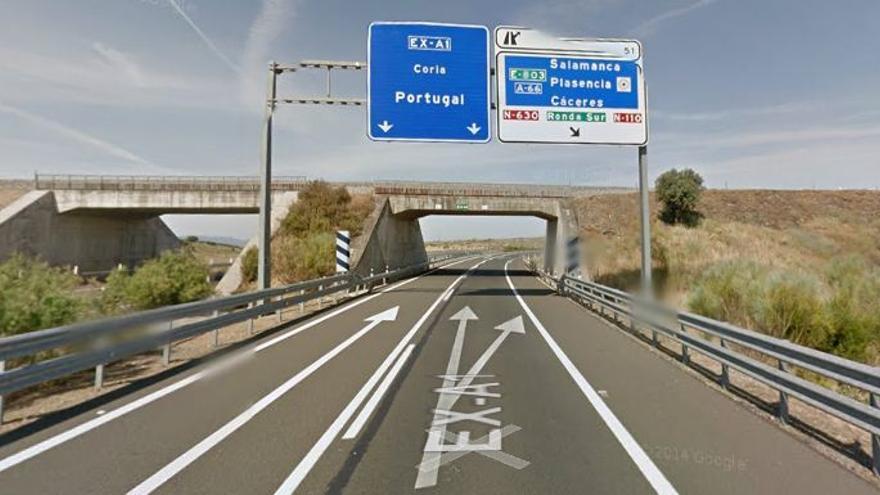 Autovía autonomica Extremadura EX-A1