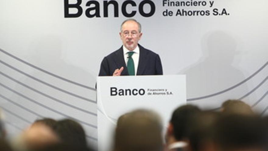 Presidente de Caja Madrid y Banco Financiero y de Ahorro, Rodrigo Rato