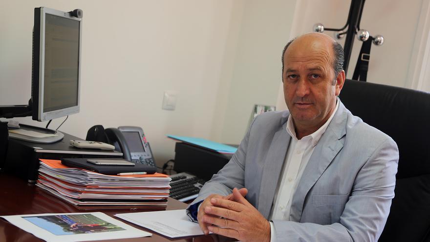 El director general de Deportes del Gobierno canario, José Francisco  Pérez.