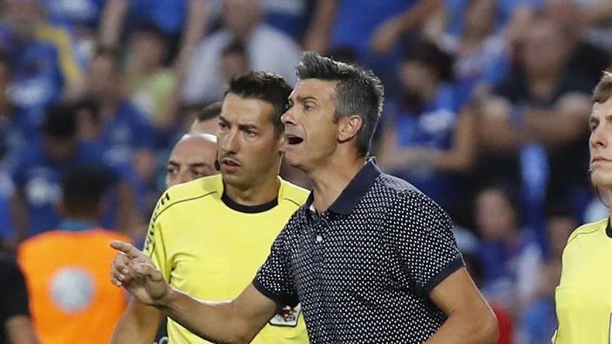 El entrenador del Tenerife, José Luis Martí. EFE/Fernando Villar
