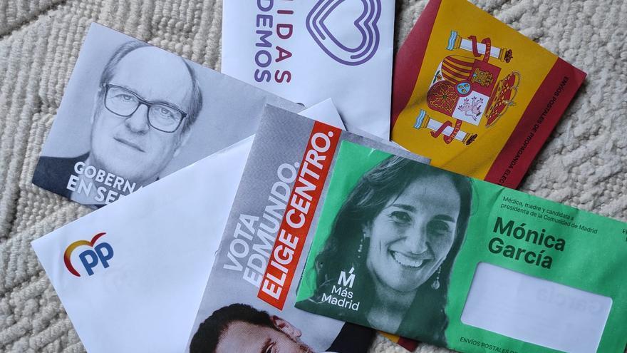 Mailing elecciónes autonómicas madrileñas de 2021