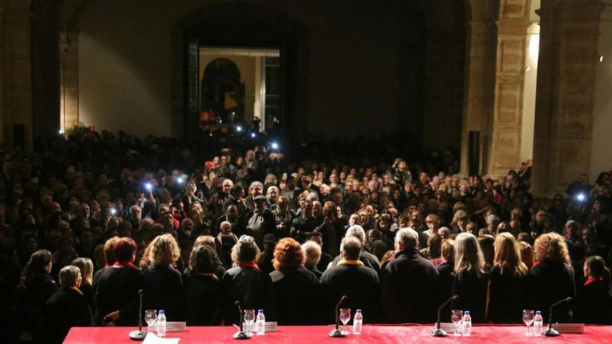 San Miguel de los Reyes, escenario del homenaje a los presos del franquismo
