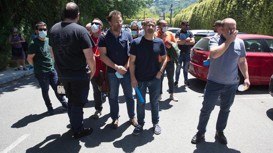 """El comité Alcoa de San Cibrao reclama al Gobierno que """"sea valiente"""" e intervenga la empresa"""