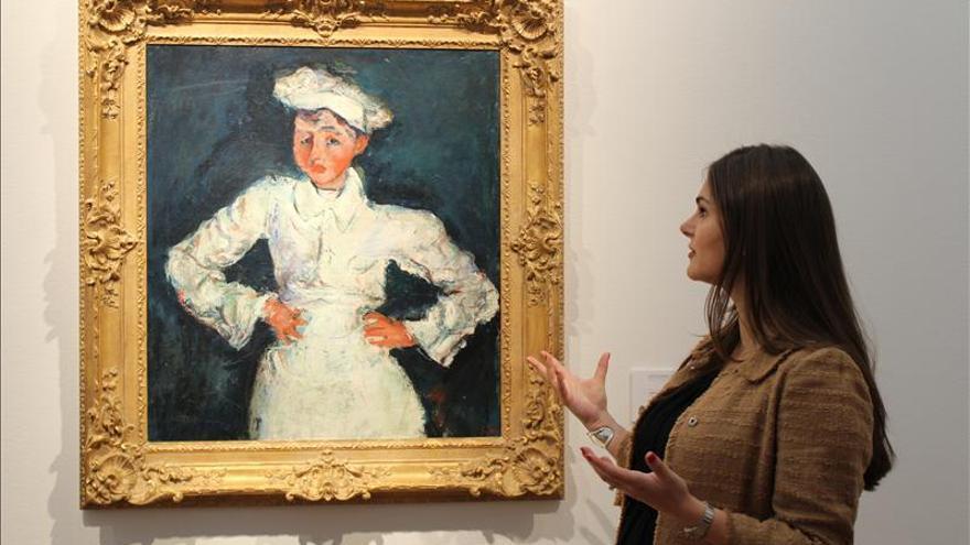 Una obra de Chaïm Soutine se subasta por 18 millones de dólares en Nueva York