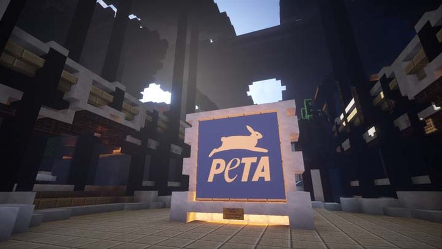 PETA Minecraft