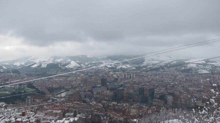 Desactivado en Euskadi el aviso amarillo por nieve, aunque se mantiene por heladas y temperaturas mínimas