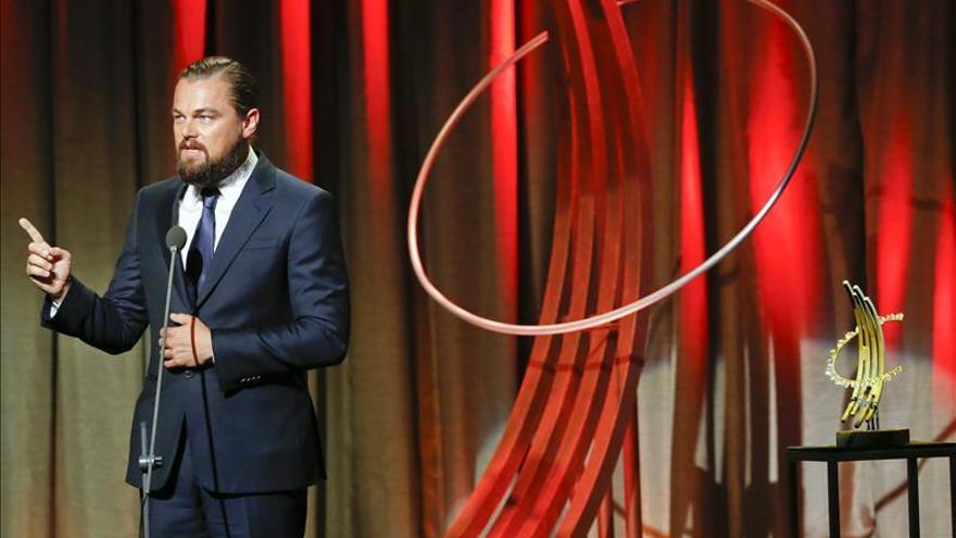 """Leonardo DiCaprio dice que """"Iñárritu ha hecho una obra de arte con 'El renacido'"""""""