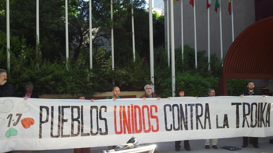 """Casi un centenar de ciudades en España y Europa protestarán mañana contra Troika y el """"austericidio"""""""