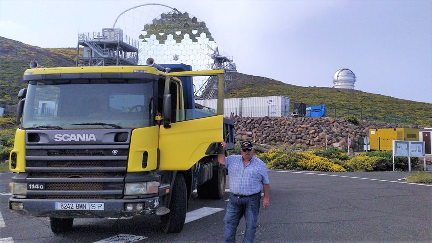 """Juan Crispo Perdomo:  """"La Palma tiene un nombre gracias al Observatorio"""""""