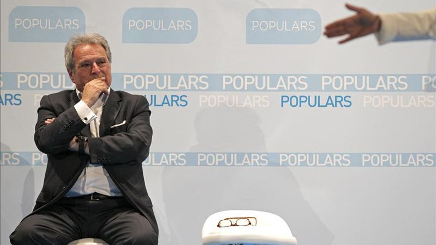 Alfonso Rus prorroga la delegación como presidente de la Diputación hasta después del 24M
