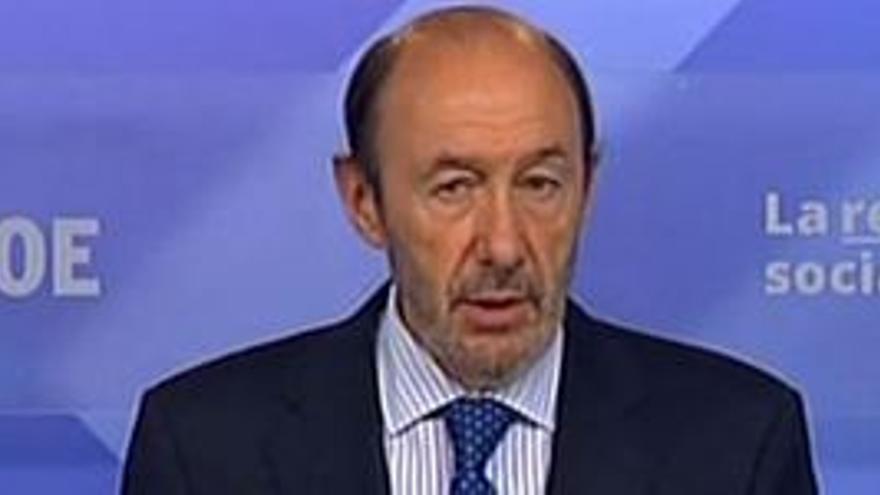 Alfredo Pérez Rubalcaba. (EP)