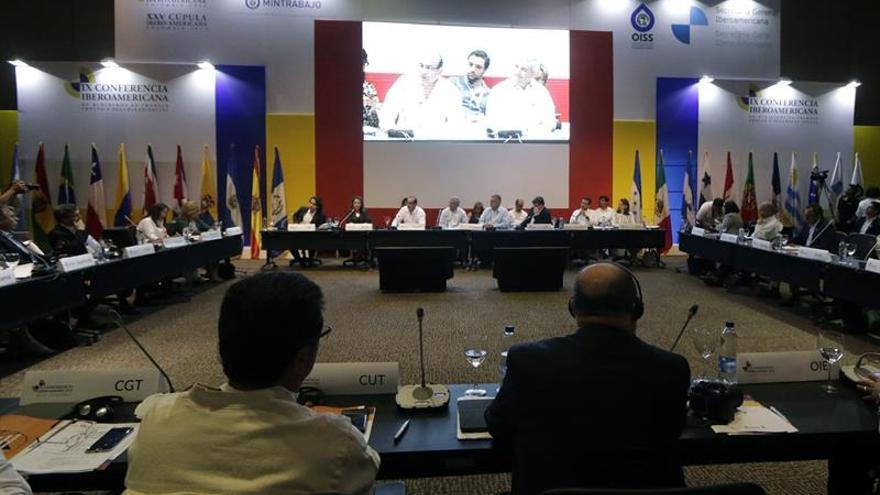 Iberoamérica considera que empleo y seguridad social son clave para su futuro