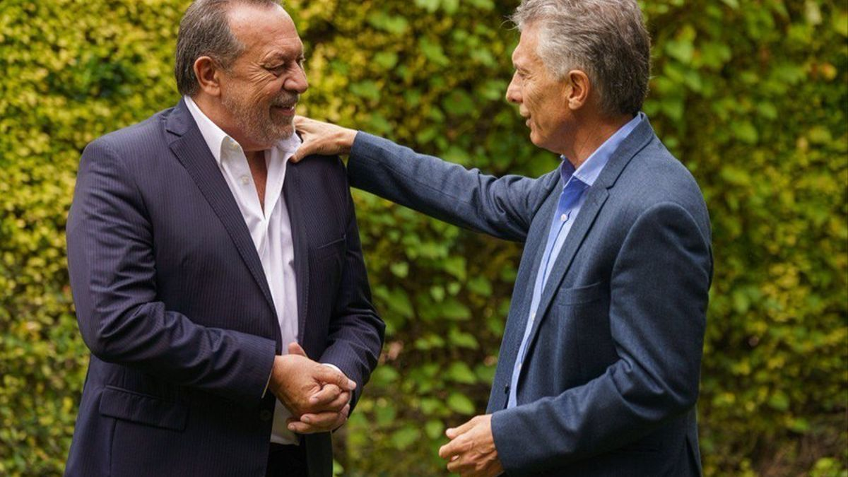 Macri, reunido con su exministro Santos la semana pasada