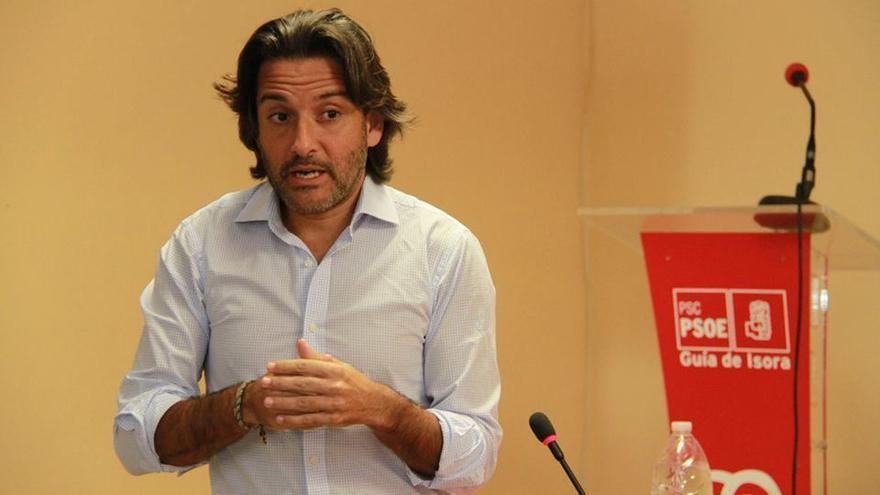 El director general de Comercio del Gobierno de Canarias, Gustavo Matos.