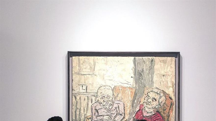Artistas de la Escuela de Londres como Bacon o Freud recalan en Málaga