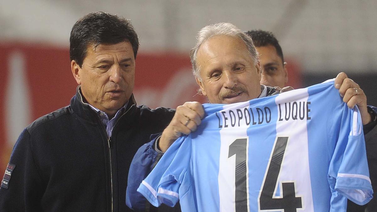 Leopoldo Jacinto Luque fue campeón del mundo en 1978.