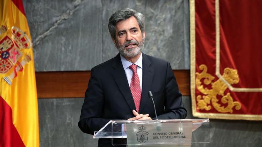Lesmes informa a Congreso y Senado del inicio del proceso para renovar CGPJ