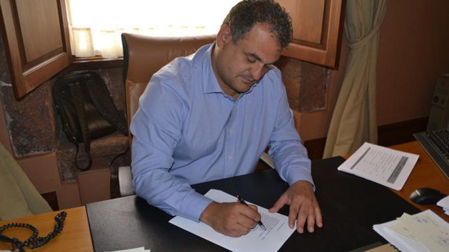 José Alberto Díaz, alcalde de La Laguna de CC