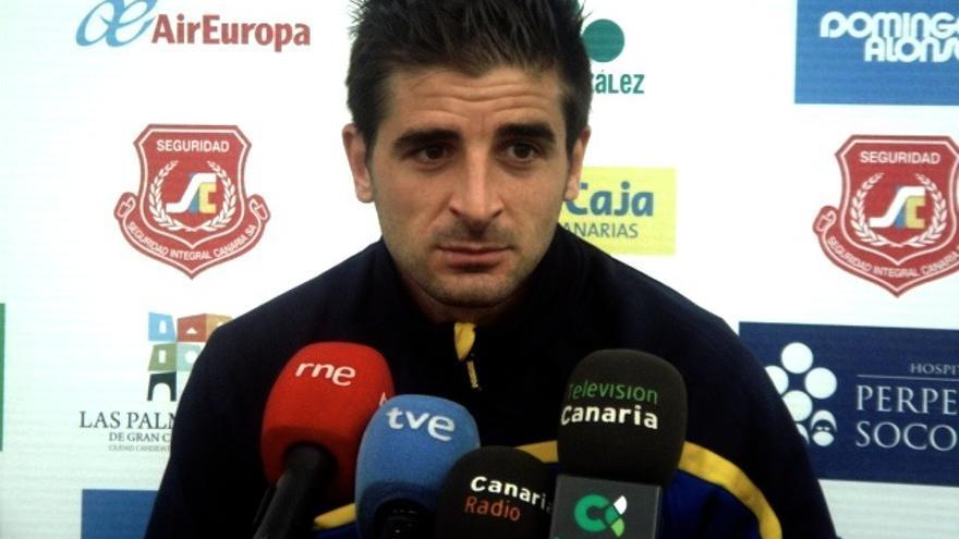 Javier Portillo en rueda de prensa (udlaspalmas.net)
