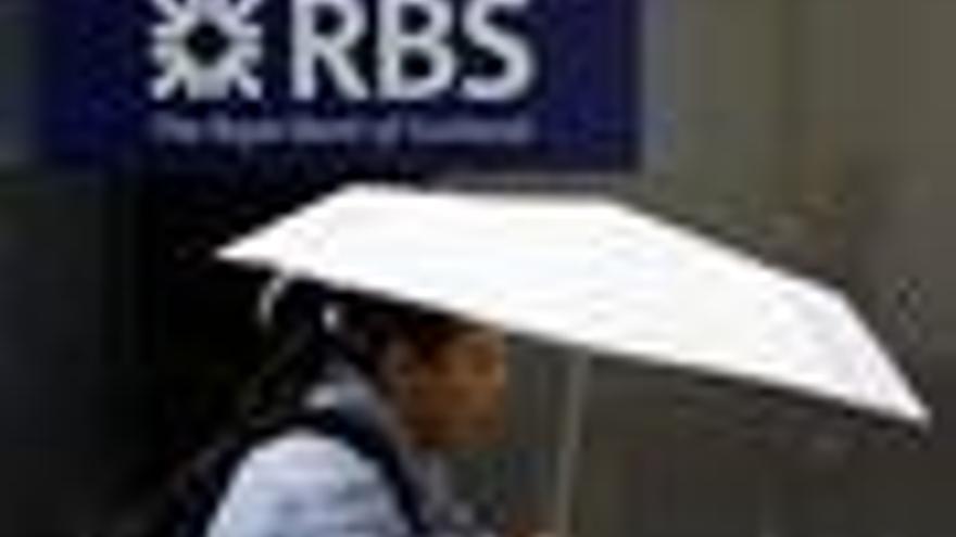 Fachada del banco RBS