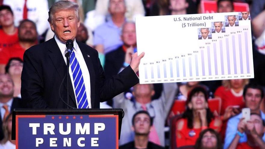 """Trump dice que Obama es el """"fundador"""" del EI y Clinton la """"cofundadora"""""""