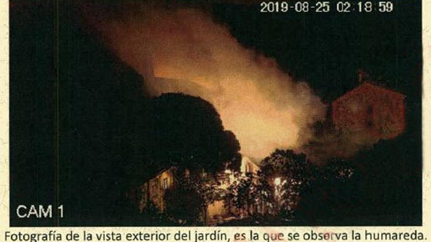 Imagen de la casa de Alexis Codina en Sant Fost de Campsentelles (Barcelona).