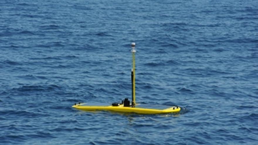 El vehículo no tripulado de observación oceánica 'Hermes'.