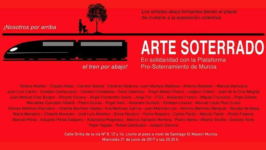 Exposición Arte Soterrado