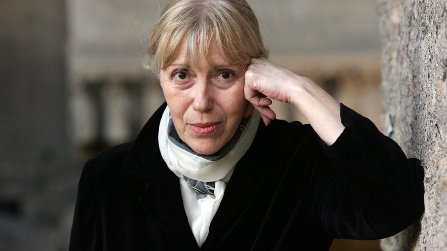 La escritora estadounidense Katherine Dunn en Roma el 4 de junio de 2008