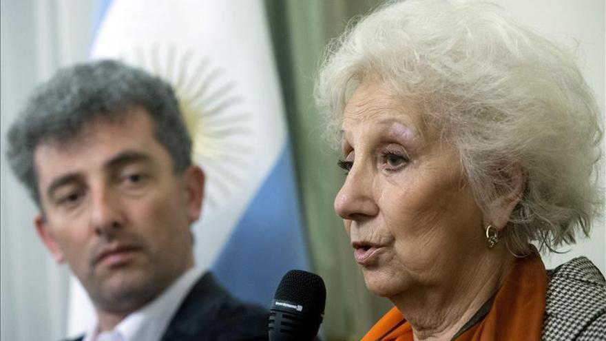 De Carlotto, satisfecha con la colaboración de la Iglesia argentina a su causa
