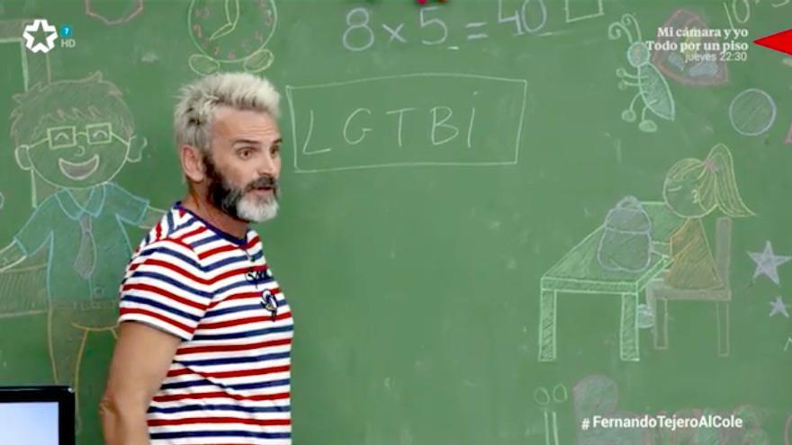 """Fernando Tejero se lía al explicar a los niños de Telemadrid el significado de LGTBIQ+: """"Es una organización"""""""