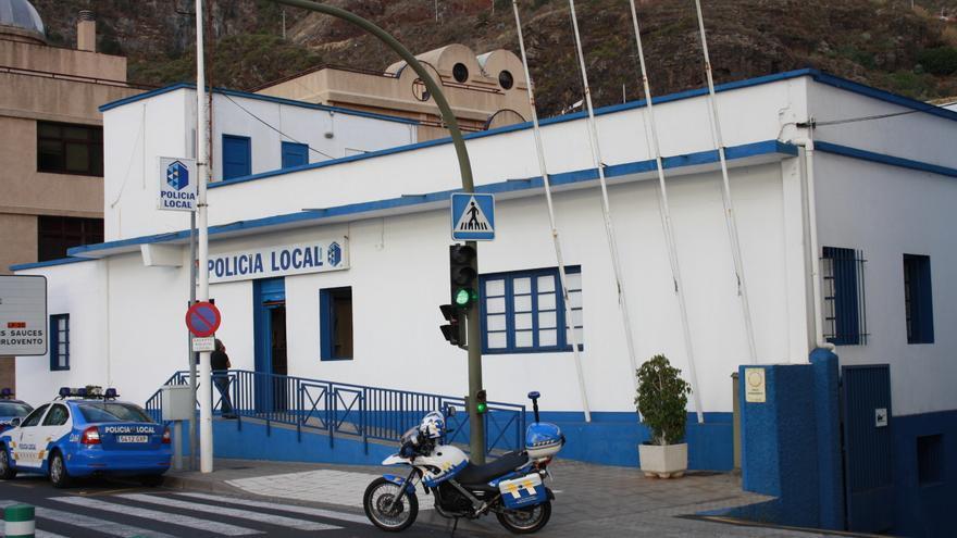 En la imagen, dependencias de la Policía Local de la capital.