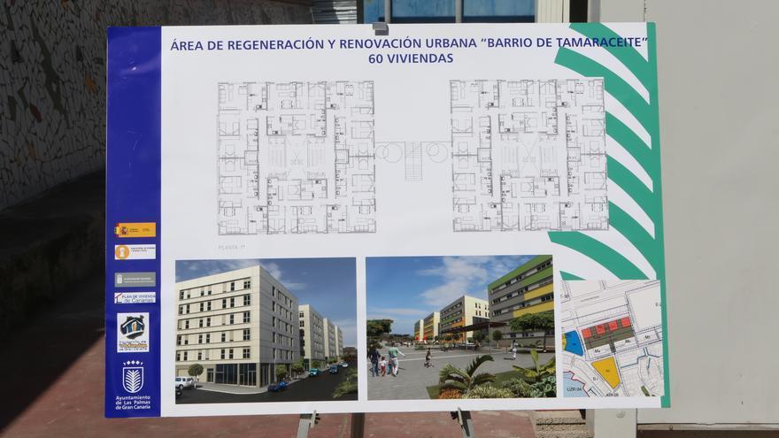 Proyecto de los nuevos edificios de Tamarecite