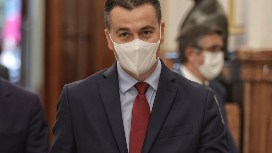 El nuevo portavoz del PSOE en el Congreso, Héctor Gómez.