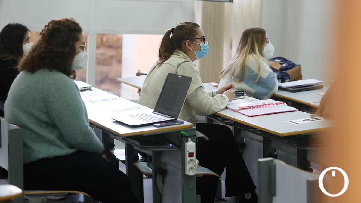 Vuelta a las clases presenciales a la Universidad de Córdoba en marzo.