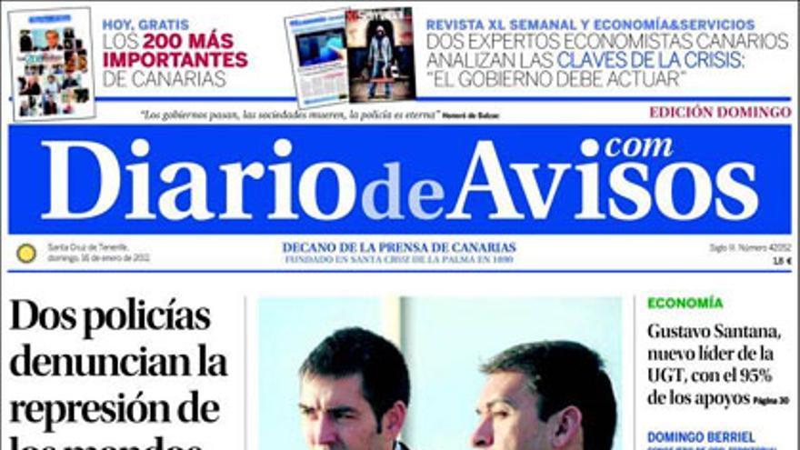 De las portadas del día (16/01/2011) #3