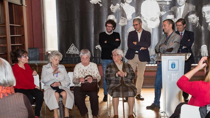 Inauguración de la oficina de atención a las víctimas del franquismo en A Coruña