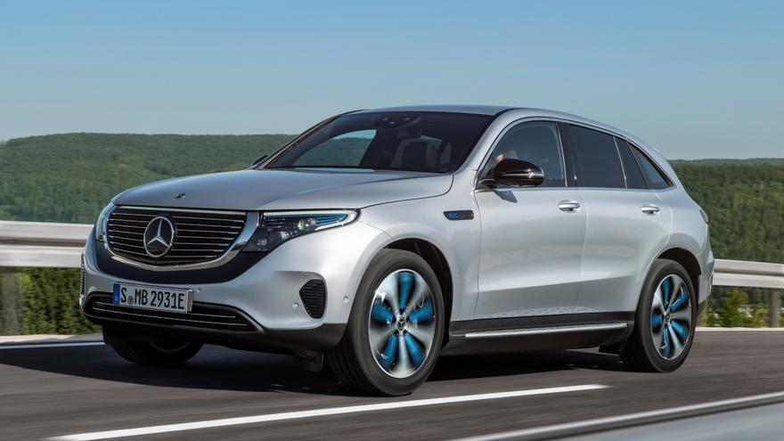 El Mercedes EQC es un SUV de 4,76 metros a cuyo desarrollo se han dedicado cuatro años de trabajo.