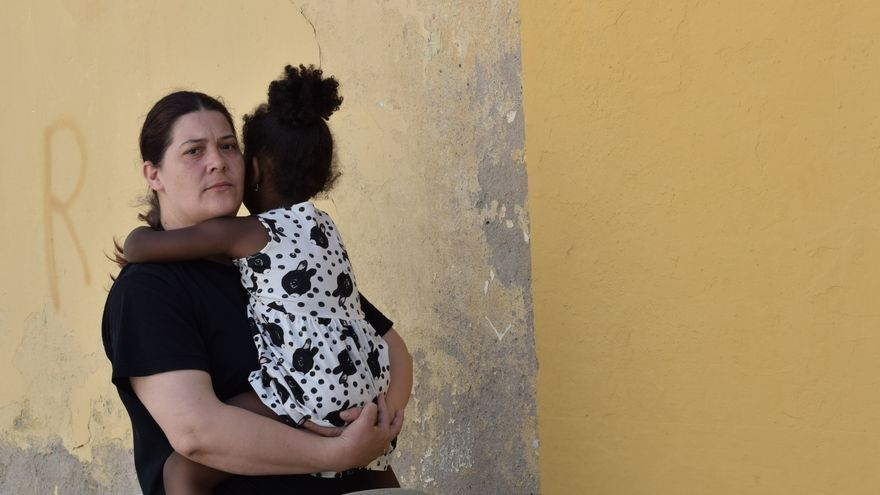 Pilar y su hija