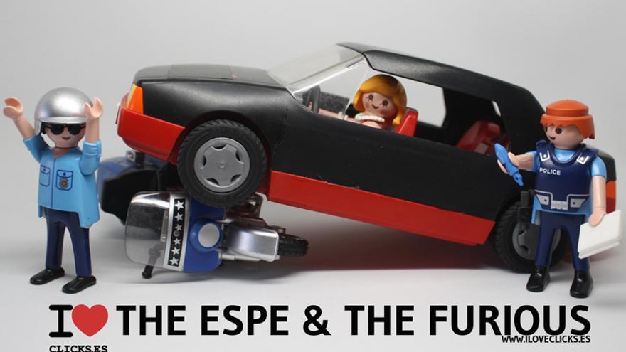 Esperanza Aguirre derriba la moto de un agente de movilidad y después se da a la fuga Love-Espe-The-Furious_EDICRT20140404_0002_3