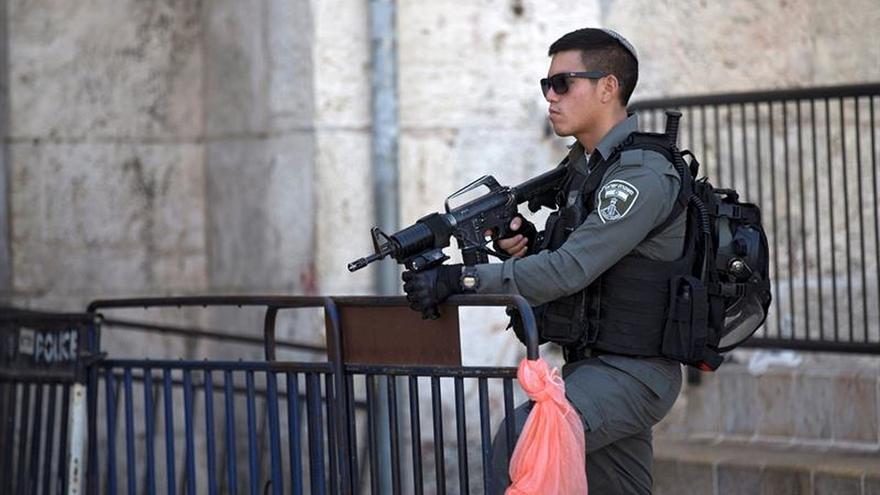 La Policía israelí emite una alerta máxima en Jerusalén por una amenaza de seguridad