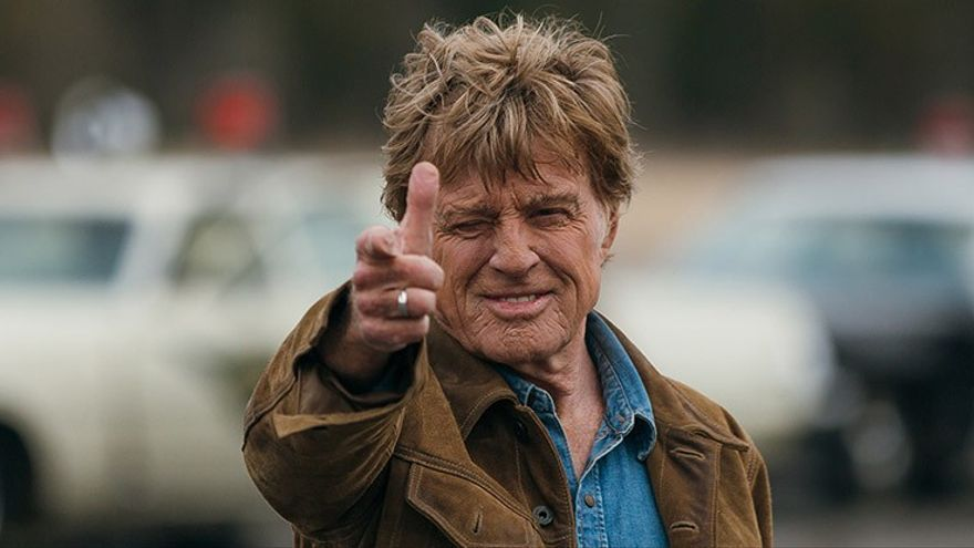 Robert Redford, en un fotograma de la película 'The old man and the gun'