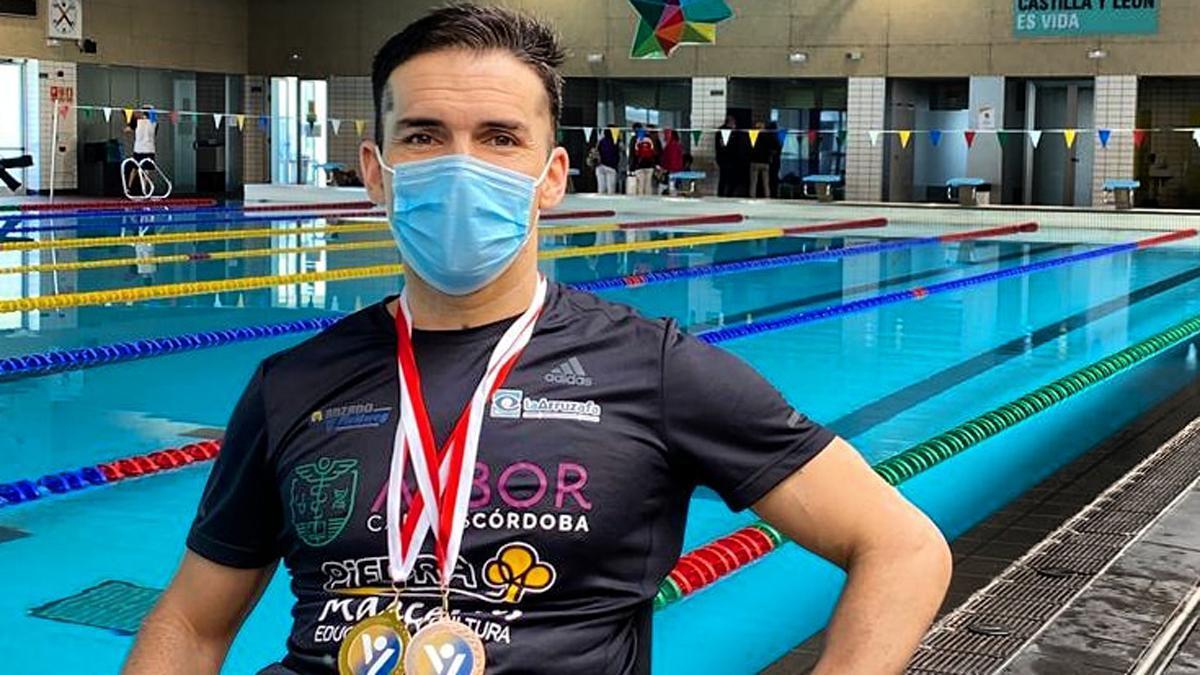 Paco Salinas, tras su participación en Valladolid.