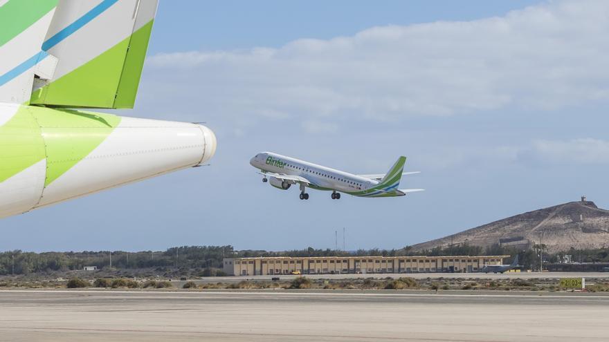 Los nuevos aviones Embraer E195-E2 de la aerolínea.