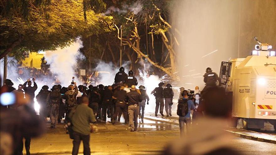 Choques entre manifestantes y policías por el realojo de beduinos del Neguev